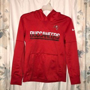 Tampa Bay Buccaneers Nike dri fit hoodie